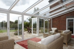 uPVC-French-Doors-opens-up-conservatory-to-the-garden