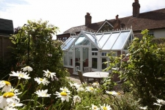 uPVC-Orangerie-blends-perfectly-in-cottage-garden