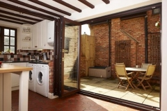 uPVC-Multi-fold-door-in-mahongany