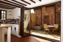 uPVC-Multi-fold-door-in-mahongany